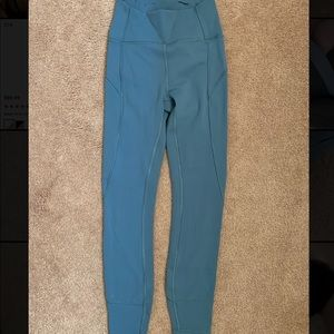 """Lululemon In Movement Tight 25"""" - size 2"""